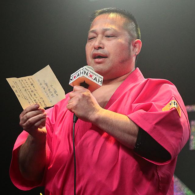 5/31【NOAH】「強いけど勝てそう」井上雅央がナショナル挑戦表明 王者 ...